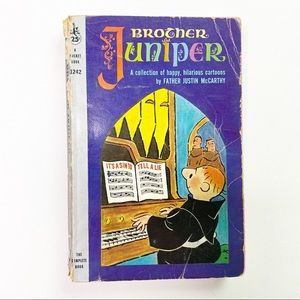 Vintage Brother Juniper Book 50s Humor Parody